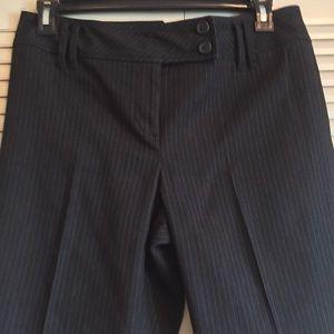 ann taylor loft Pants - Ann Taylor Woman's 10 Black Pinstripe Career Pant